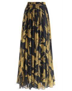 燕子圖案半身裙