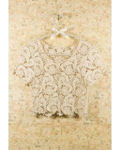 Vintage Crochet Smock