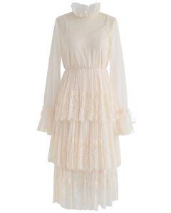 我們已經遇到過Dots蕾絲網眼連衣裙