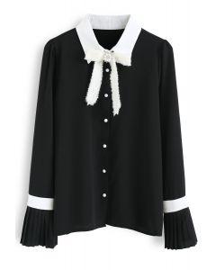 今日新款輕薄雪紡襯衫