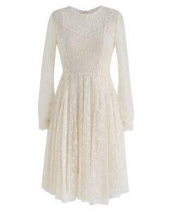 夢幻蕾絲連衣裙